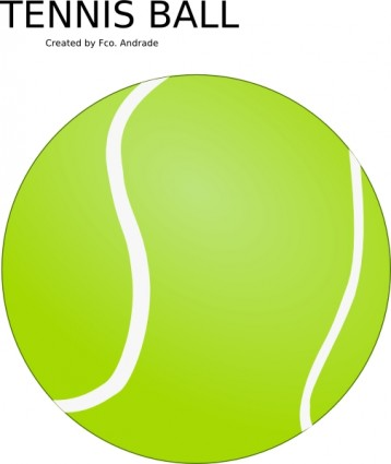 Tennis ball clip art free vector in open office drawing svg svg 2