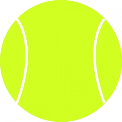 Tennis ball clip art free vector in open office drawing svg svg 3