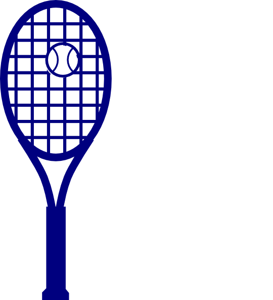 Tennis clipart image tennis racket and tennis ball image 2 image 2