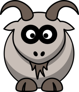 Test goat clip art at vector clip art clipartcow