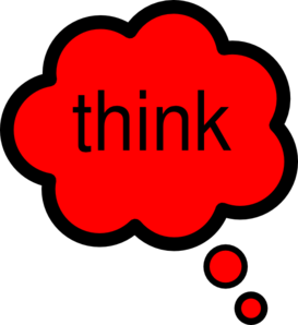 Thinking think clip art at vector clip art free clipartcow