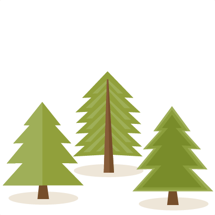 Three pine trees clip art at clker vector clip art clipartcow