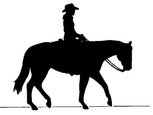 Western clip art on cowboys metal art and westerns