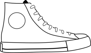 White shoe clip art at vector clip art clipartcow