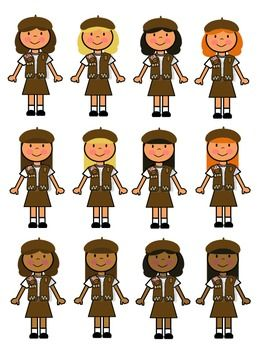 Brownie girl scout clip art brownie girl scouts girl scouts and