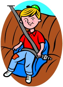 Car safety clipart