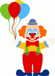 Circo on clip art clowns and circus party