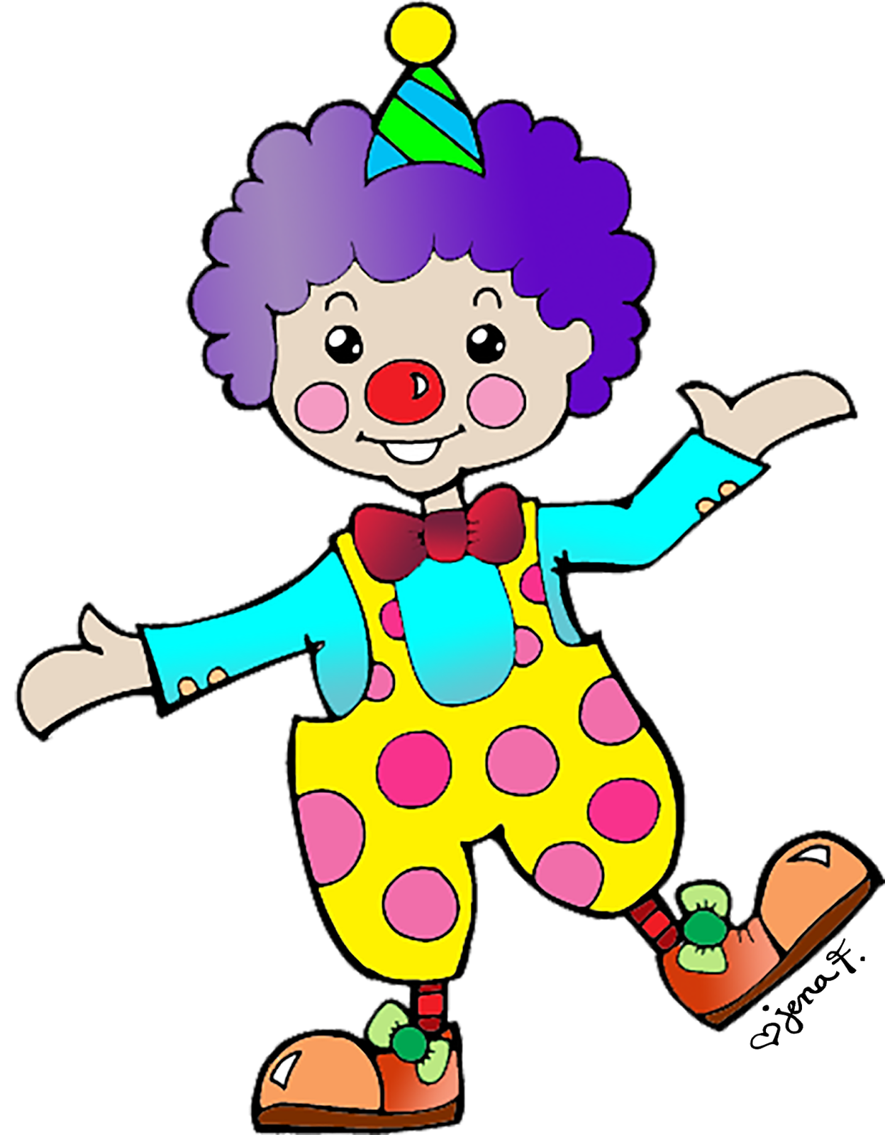 Circus free clown clipart the cliparts