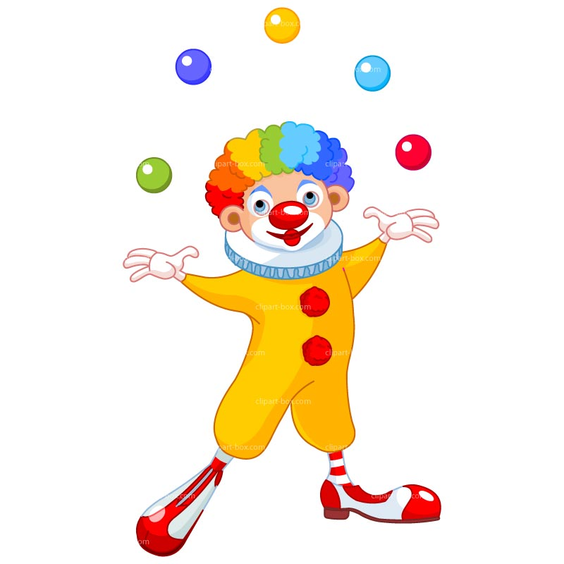 Clown cliparts 4