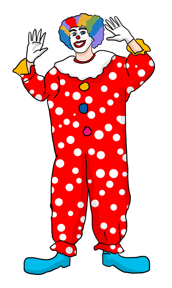 Clown free to use cliparts 2