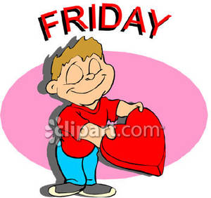Day the week friday free clipart picture