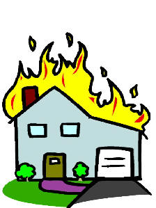 Fire safety booklet clip art 3