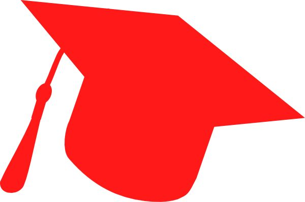 Flying graduation caps clip art graduation hat clip art