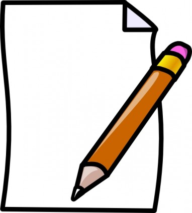 Free paper and pen clip art free vector for free download about 4