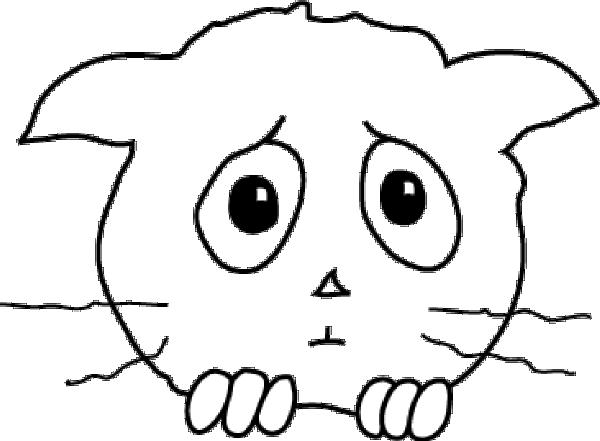 Free sad face clip art 5