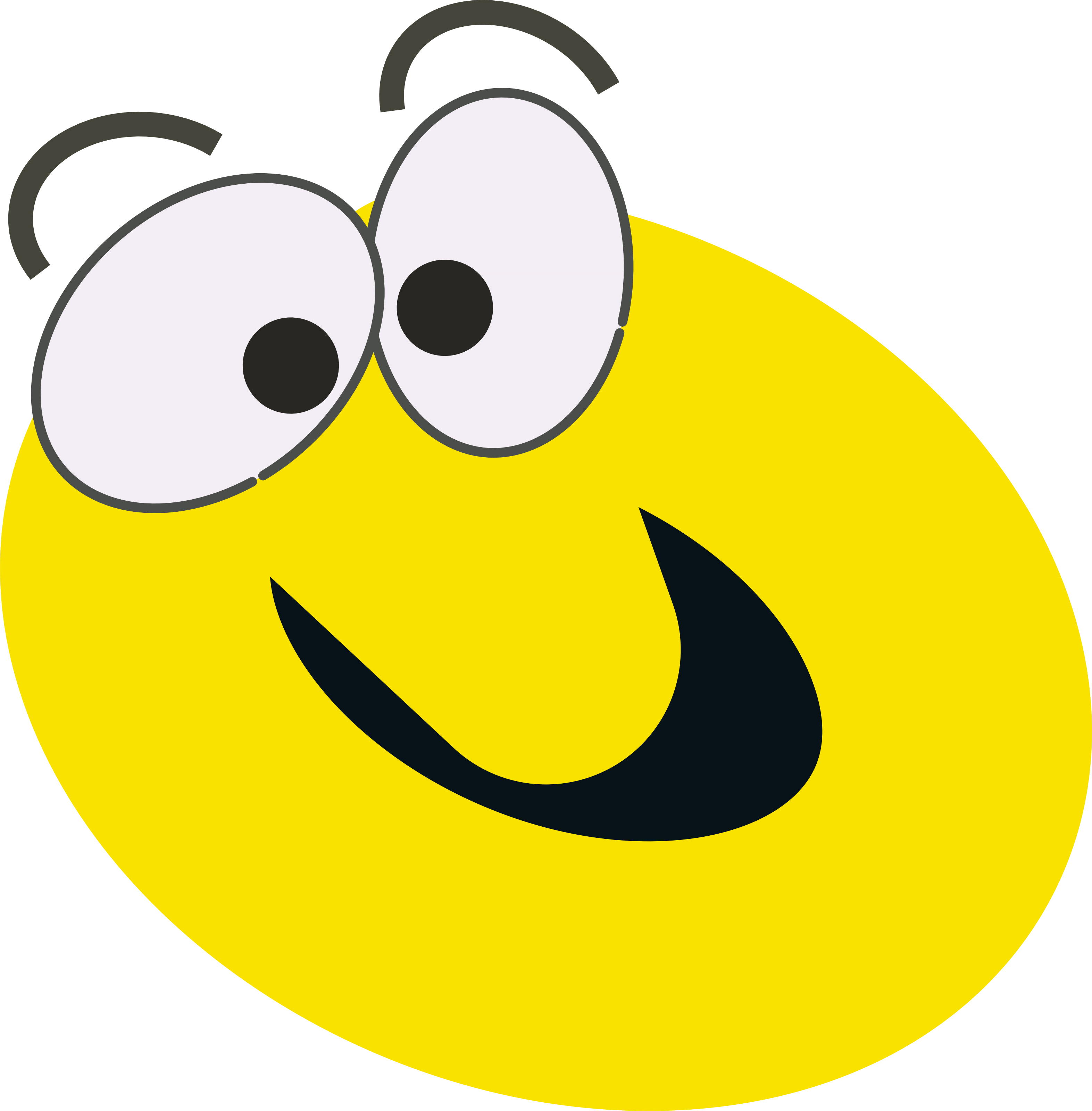 Funny faces cartoon pictures clipart