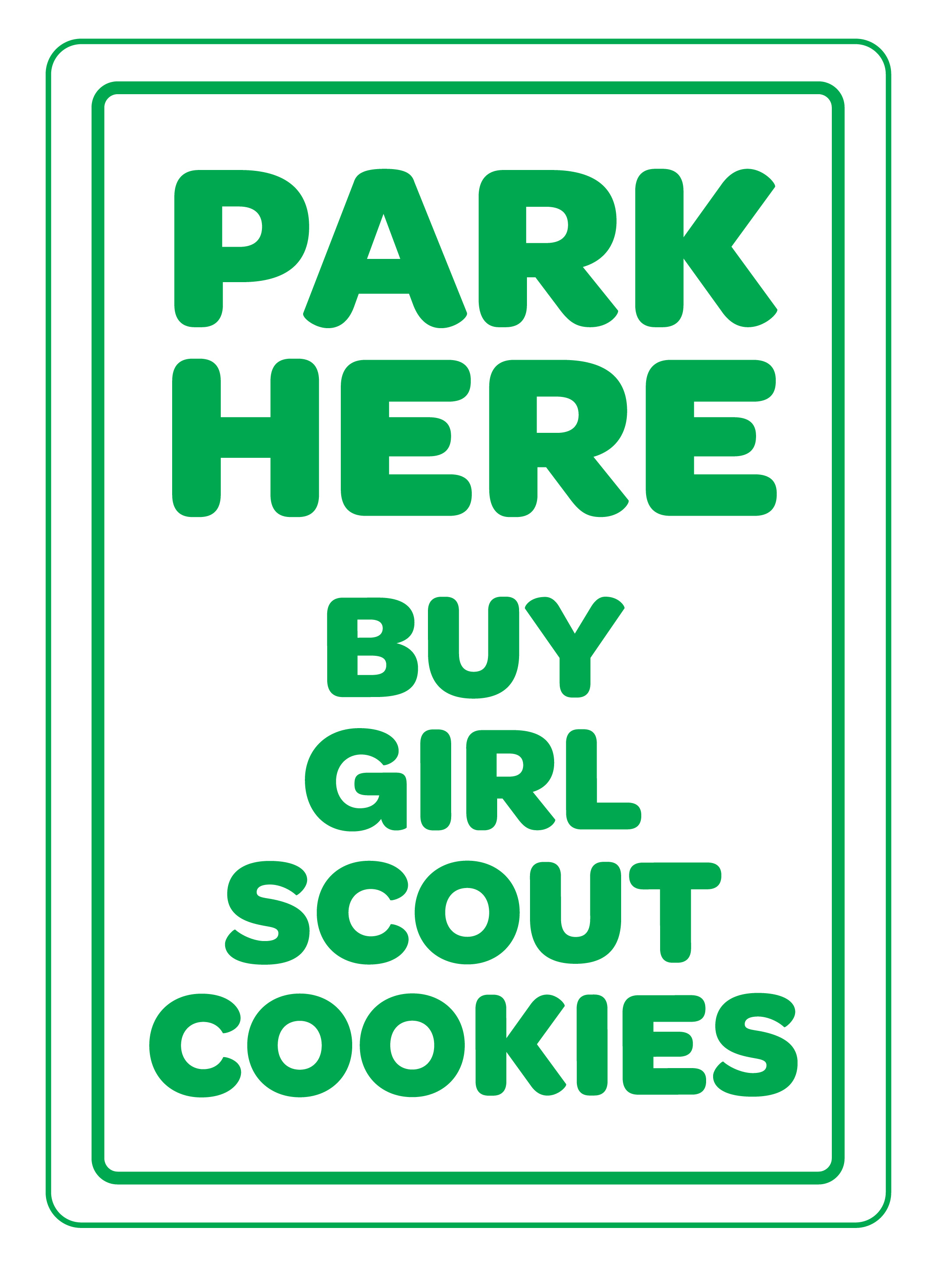 Girl scouts of the colonial coast cookie forms clipart 2