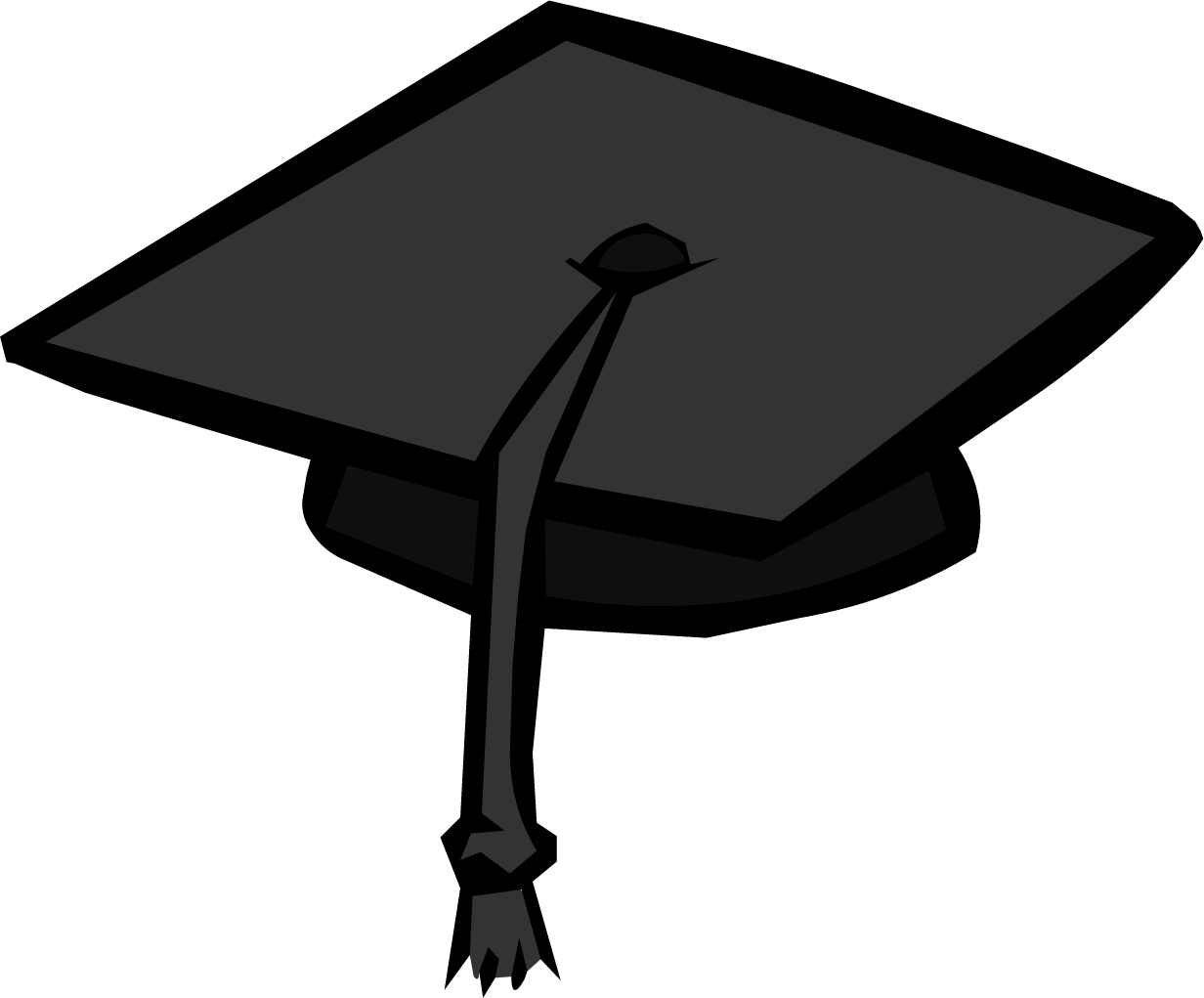Graduation cap transparent clipart 2