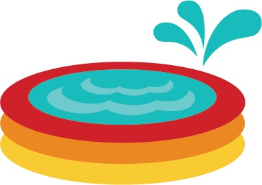 Kiddie pool clipart free clipart images