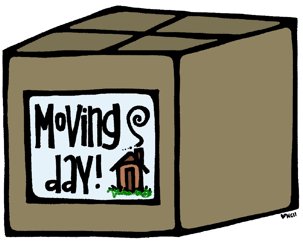 Moving day clipart