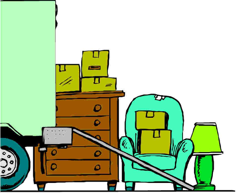 Moving truck clip art 2