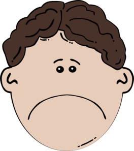Sad face crying clipart clipartcow