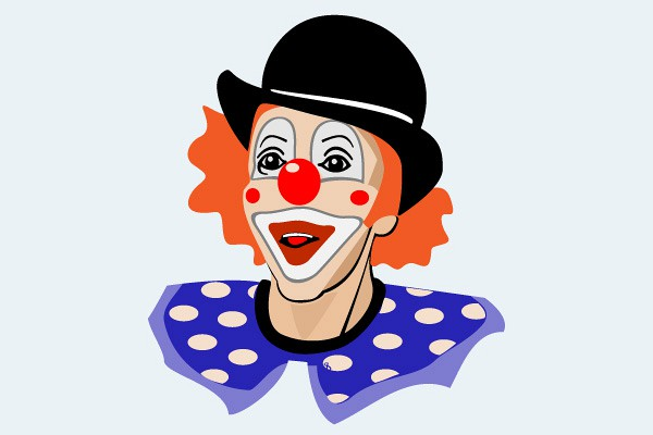 Vector clown clip art free vector vectors deluxevectors