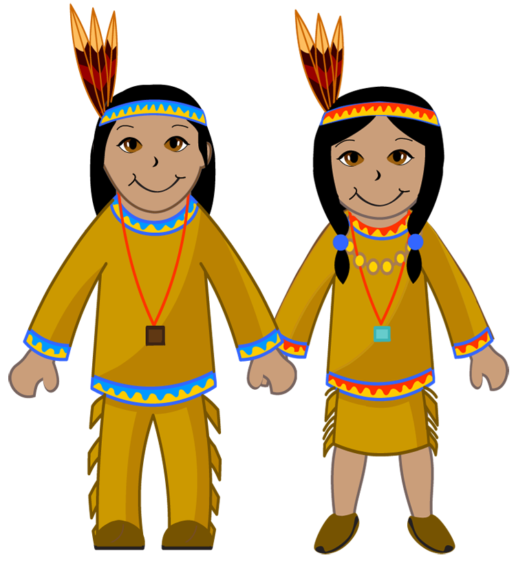 Free native american clipart the cliparts