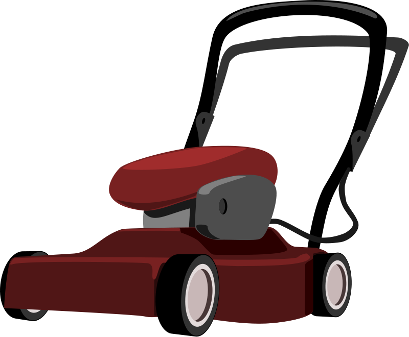 Lawn mower free to use clip art