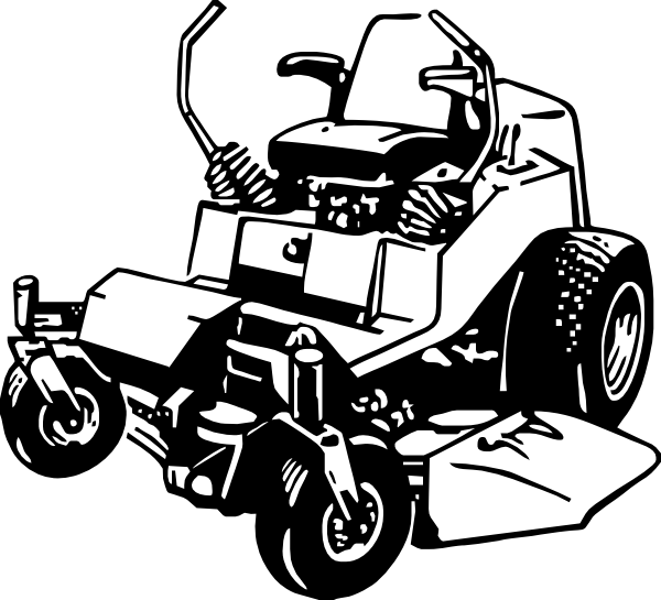 Lawn mower zero turn mower clipart clipart kid