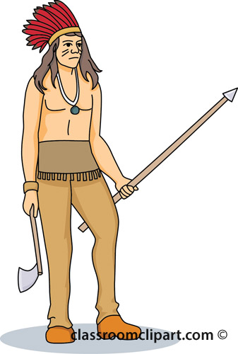 Native american indian native american indian a clipart