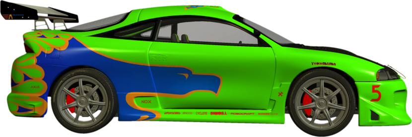 Race car car clipart