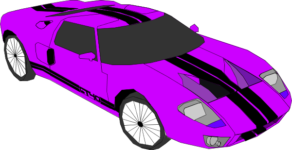 Race car sports car vector clip art