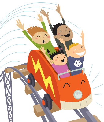Roller coaster 2 clipart the arts image pbs learningmedia