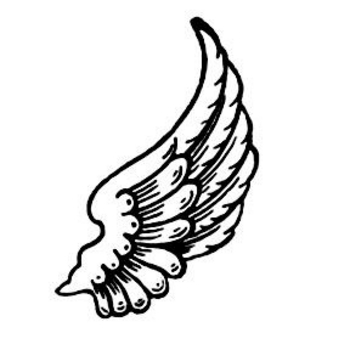 Angel wings angel wing clip art 2 image 2
