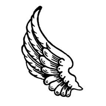 Angel wings angel wing clip art 2 image 3