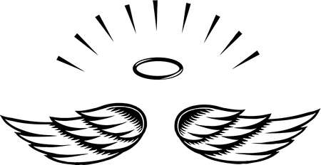 Angel wings angel wing clip art image