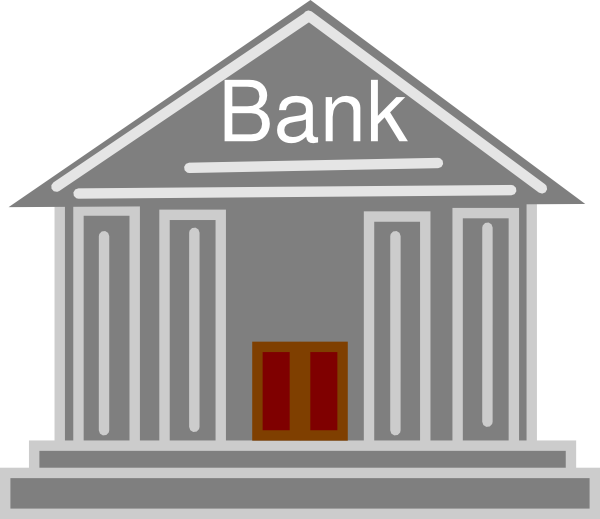 Bank branch clipart clipart kid