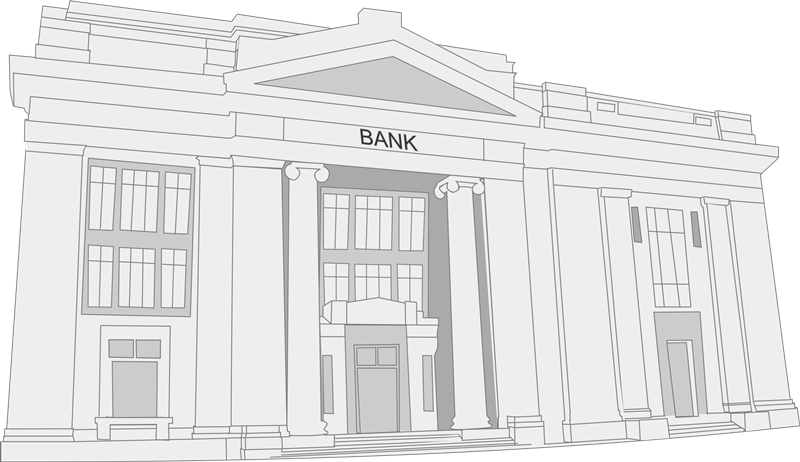 Bank free to use clipart