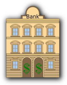 Bank high quality clip art