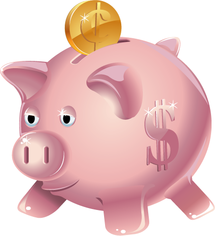Bank piggy clipart clipart kid