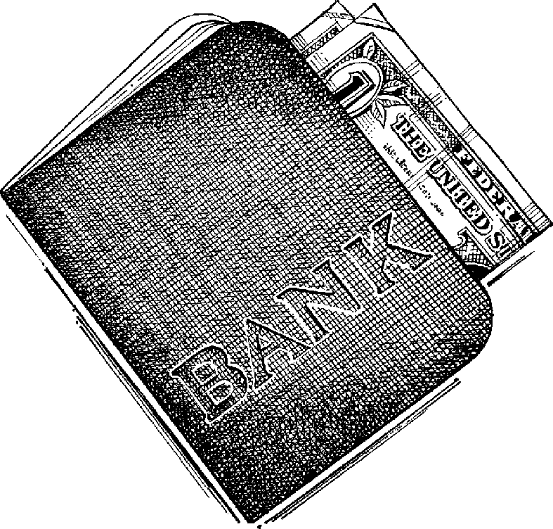 Book bank clipart