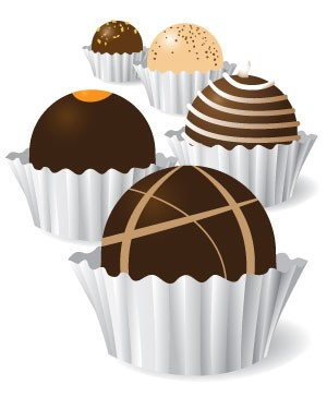 Chocolate clip art images illustrations photos 3