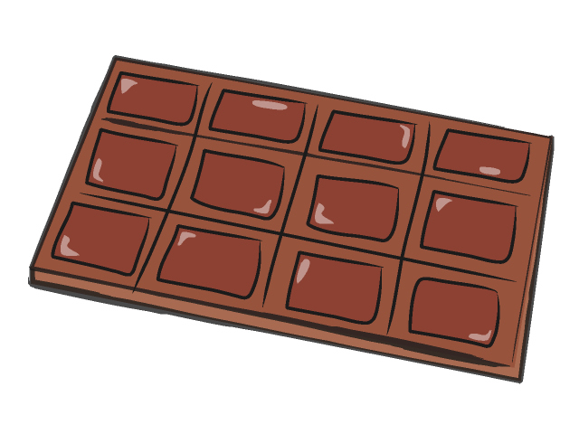 Chocolate clipart candy food free clipart images 4