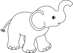 Elephant clipart for kids free clipart images
