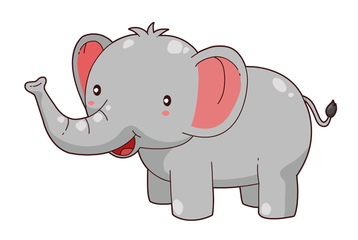 Elephant free to use clipart
