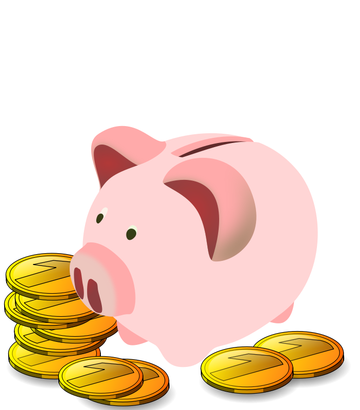 Food bank clip art free clipartlord free piggy bank