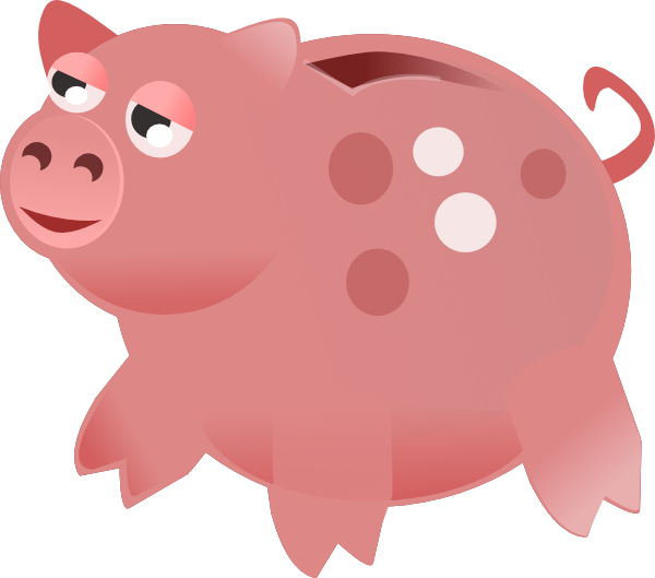 Free piggy bank clipart the cliparts 3