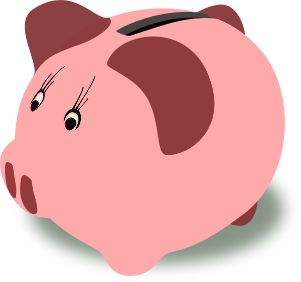 Free piggy bank clipart the cliparts 4