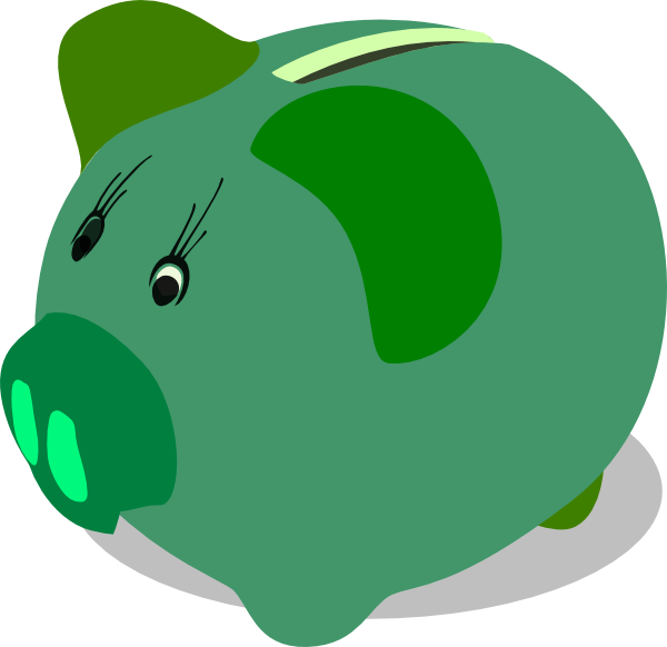 Free piggy bank clipart the cliparts